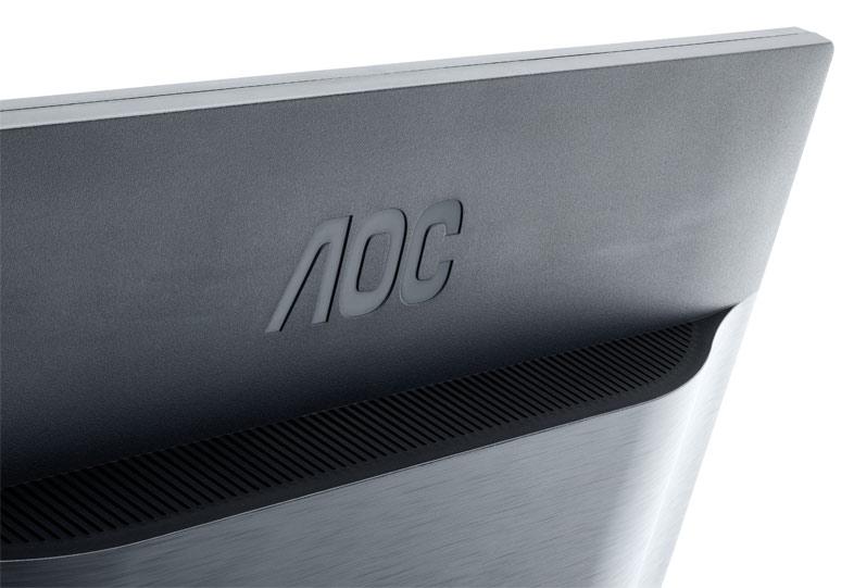 """Монитор AOC 24"""" Professional i2460Pxqu черный IPS LED 16:10 DVI HDMI M/M матовая HAS Pivot 300cd 1920x1200 D-Sub Display"""