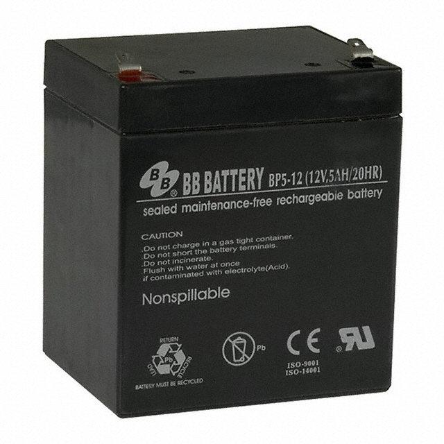 Аккумулятор BB Battery BP 5-12