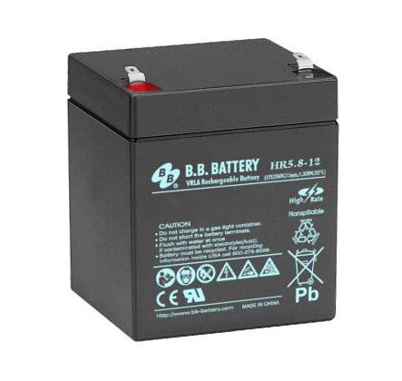 Аккумулятор BB Battery HR 5,8-12