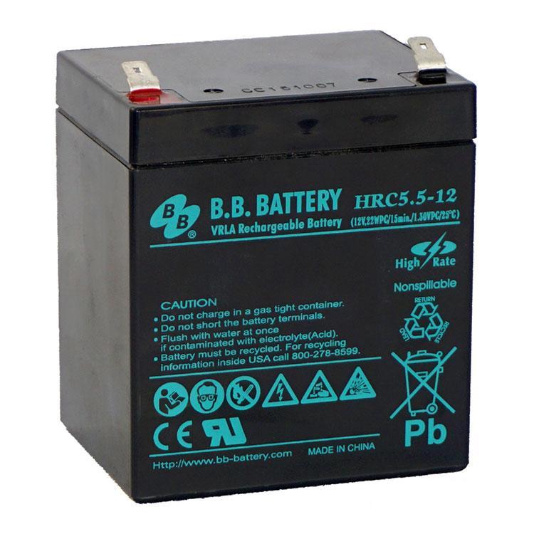 Аккумулятор BB Battery HRC 5,5-12