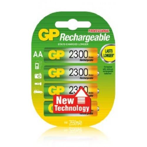Аккумулятор GP 230AAHC-2CR4 2300mAh AA 4шт