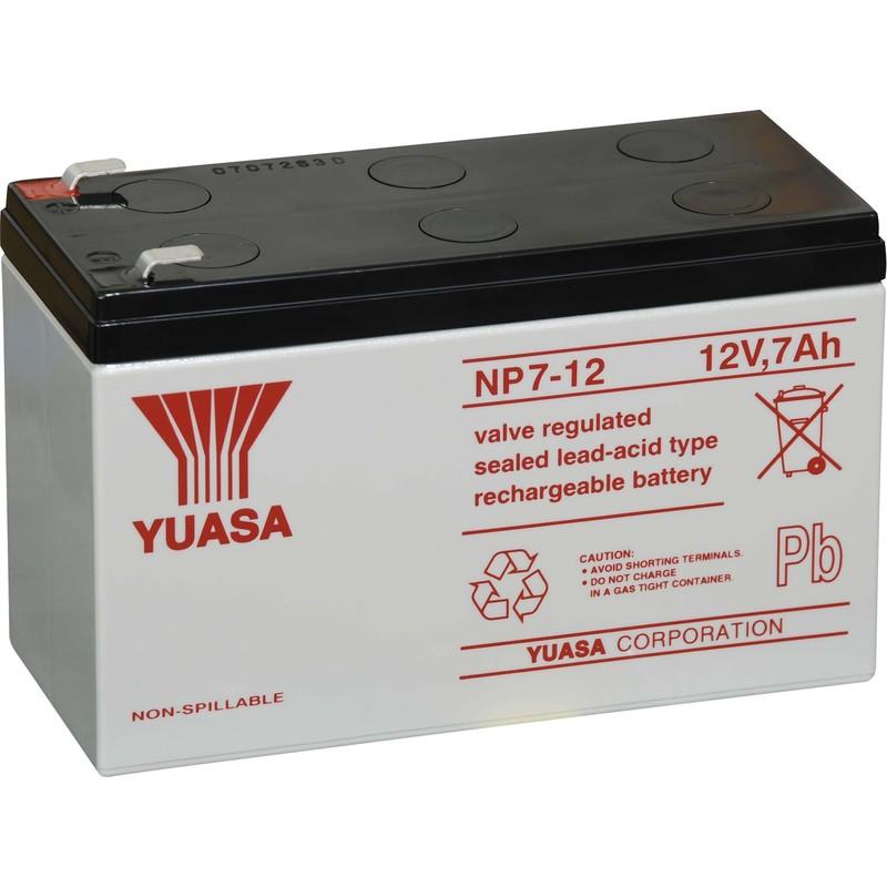 Батарея для ИБП Yuasa NP7-12 12В 7Ач для Yuasa