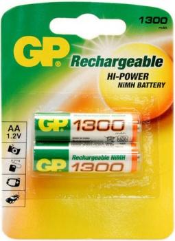 Аккумулятор GP 130AAHC AA 1300mAh (2шт)