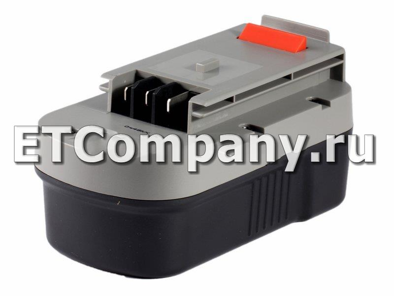Аккумулятор Black & Decker BD, BDGL, CD, CDC, EPC, FS, GCO серии, усиленный