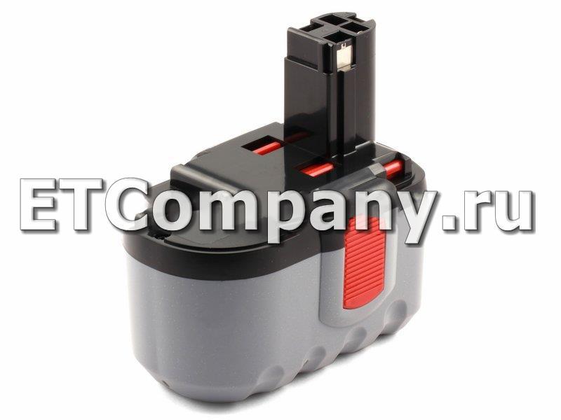 Аккумулятор Bosch GBH, GCM, GKG, GKS, GLI, GMC, GSA, GSB, GSR, GST, PSB, SAW серии, усиленный