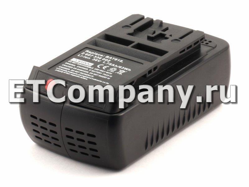 Аккумулятор Bosch 1600, 11500, 18600, 38600, AHS, AKE, GBH, GKS, GSA, GSB, GSR, Rotak 34, 37, 43 LI