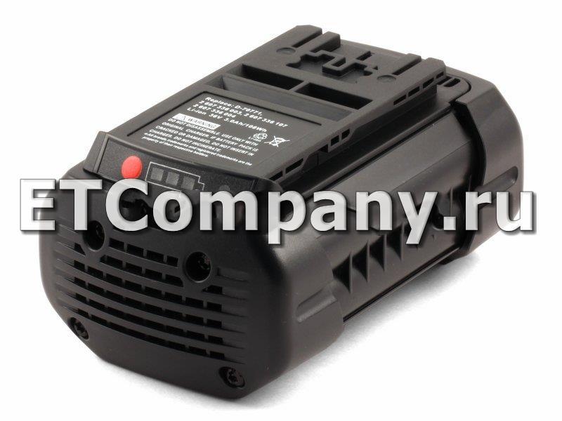 Аккумулятор Bosch 1600, 11500, 18600, 38600, AHS, AKE, GBH, GKS, GSA, GSB, GSR, Rotak 34, 37, 43 LI, усиленный
