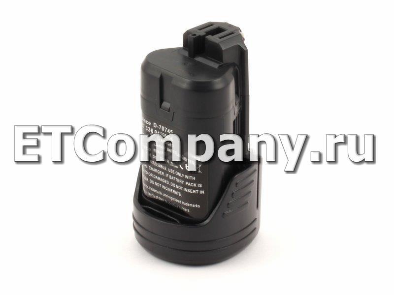 Аккумулятор Bosch GDR, GLI, GOP, GSA, GSC, GSR, GUS, GWB, GWI, PS серии