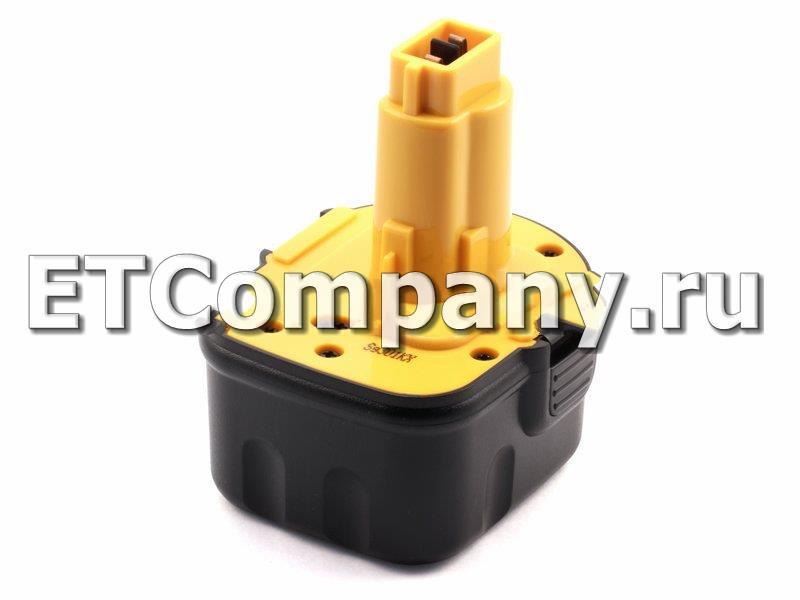 Аккумулятор DeWalt 25000, DC500, DC700, DC800, DC900, DCD, DW050, DW900 серии, усиленный