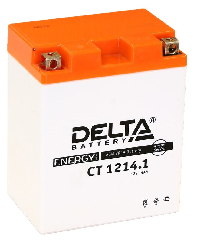 Аккумулятор для снегохода YAMAHA PZ50, GT, MP, MT, RT, VT AGM