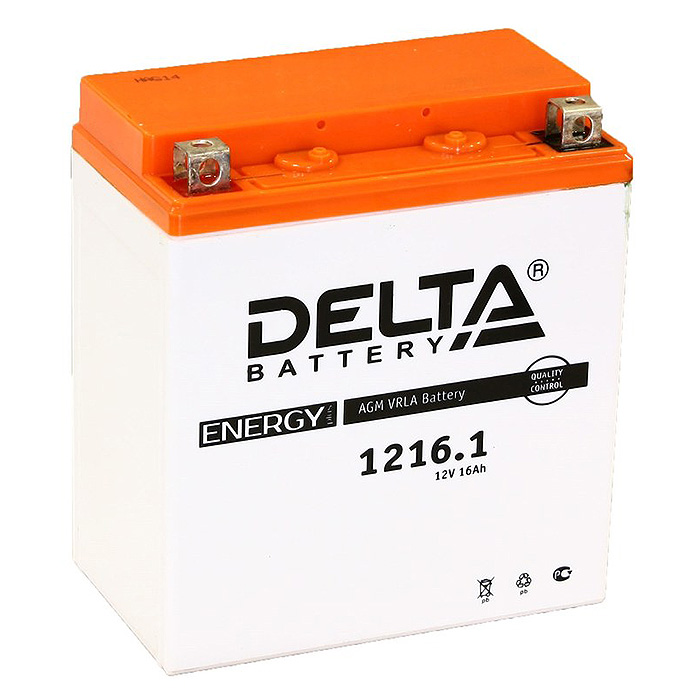 Аккумулятор 12В, 16А/ч CT1216.1