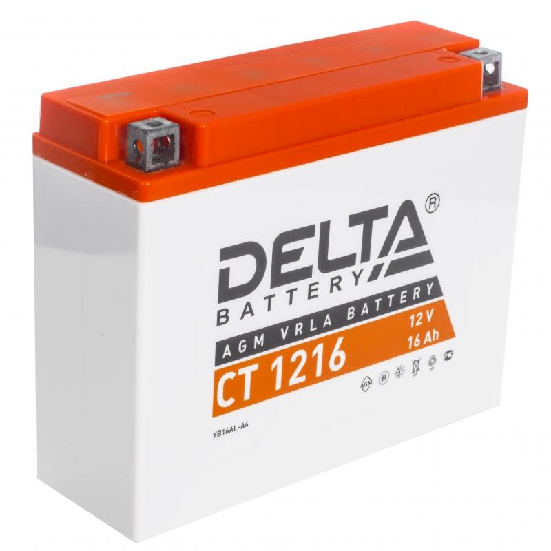 Аккумулятор 12В, 16А/ч CT1216