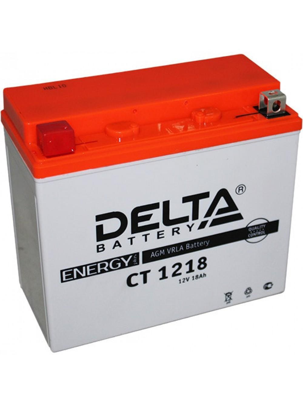 Аккумулятор 12В, 18А/ч CT1218