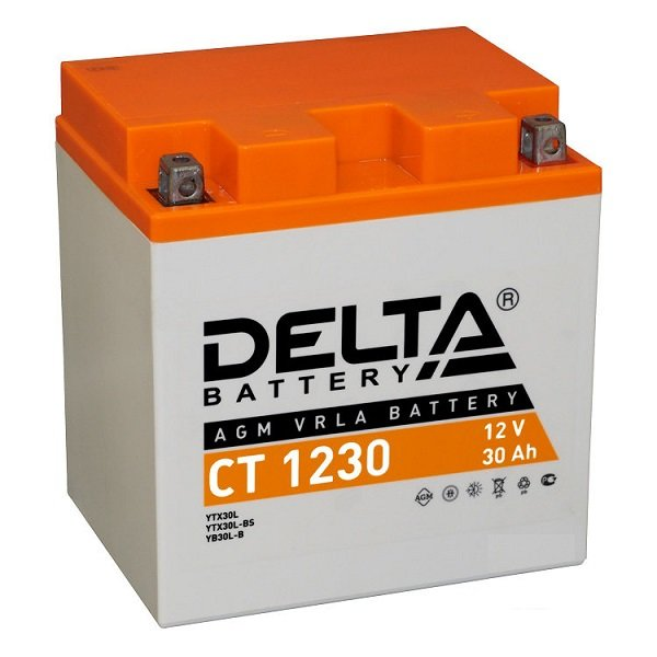 Аккумулятор 12В, 30А/ч CT1230
