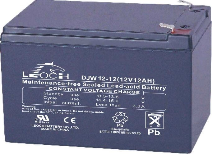 Аккумулятор Leoch DJW12-12