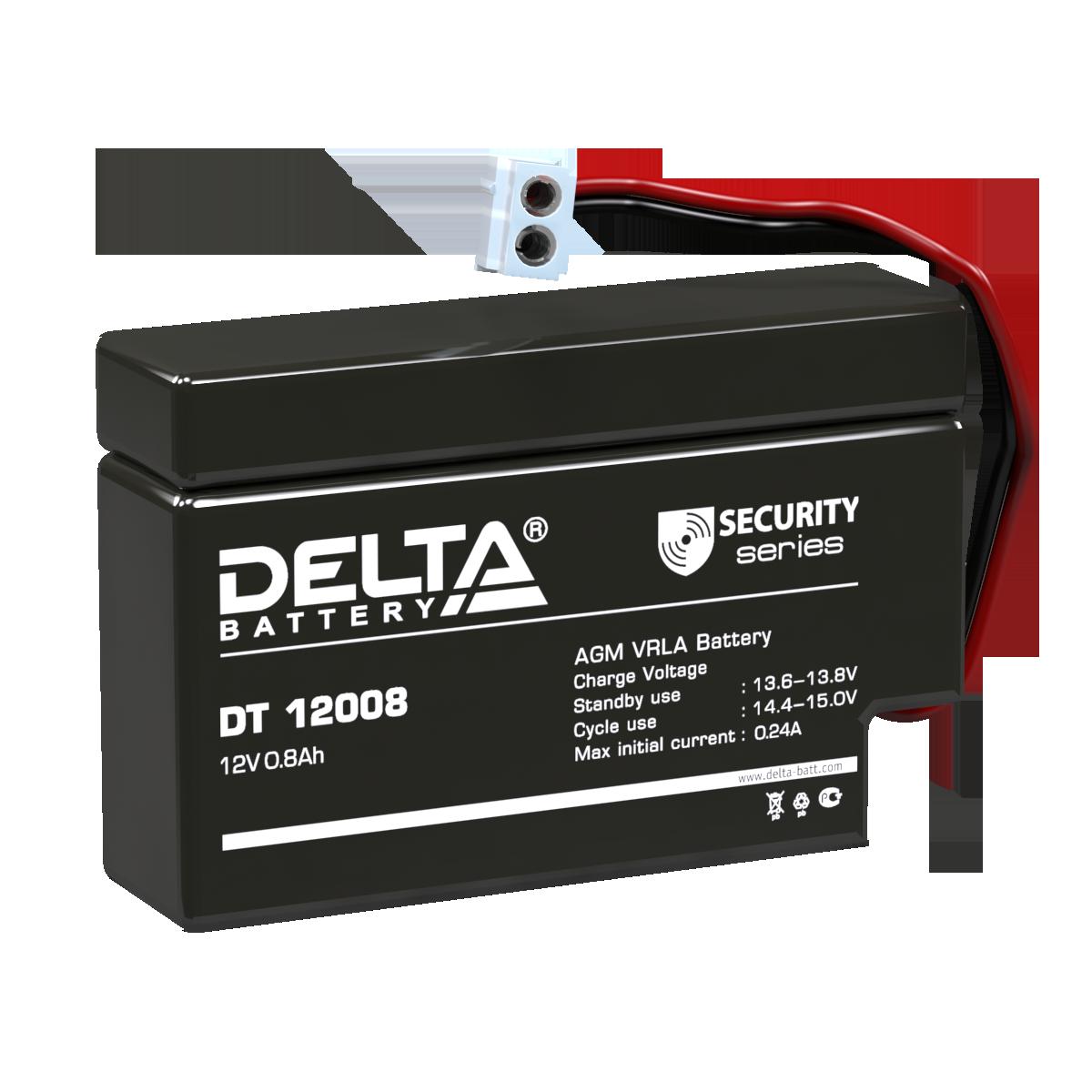 Аккумулятор DELTA DT 12008
