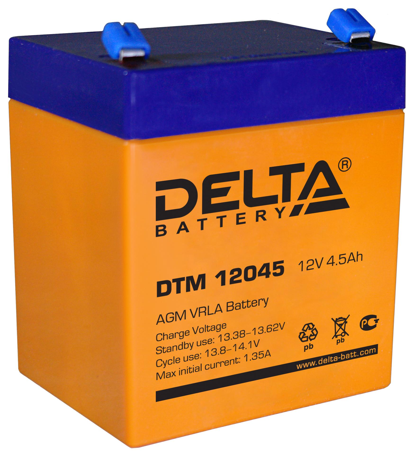 Аккумулятор DELTA DTM 12045