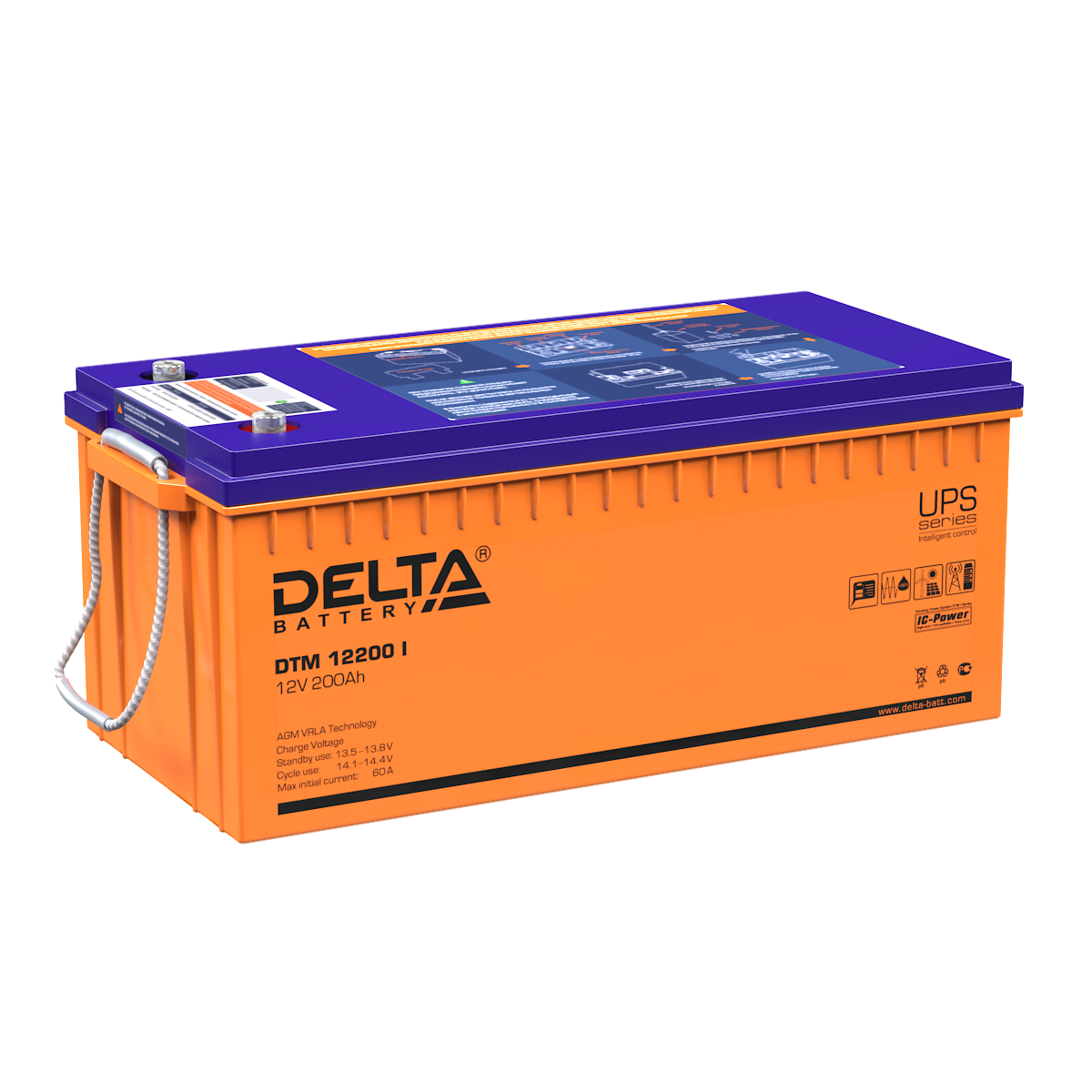 Аккумулятор DELTA DTM 12200 I