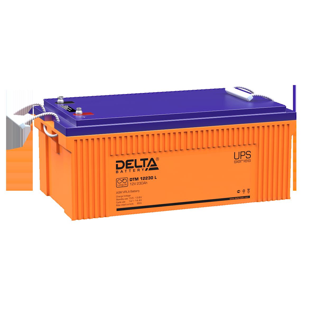 Аккумулятор DELTA DTM 12230 L