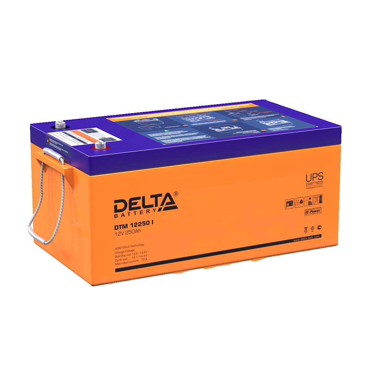 Аккумулятор DELTA DTM 12250 I
