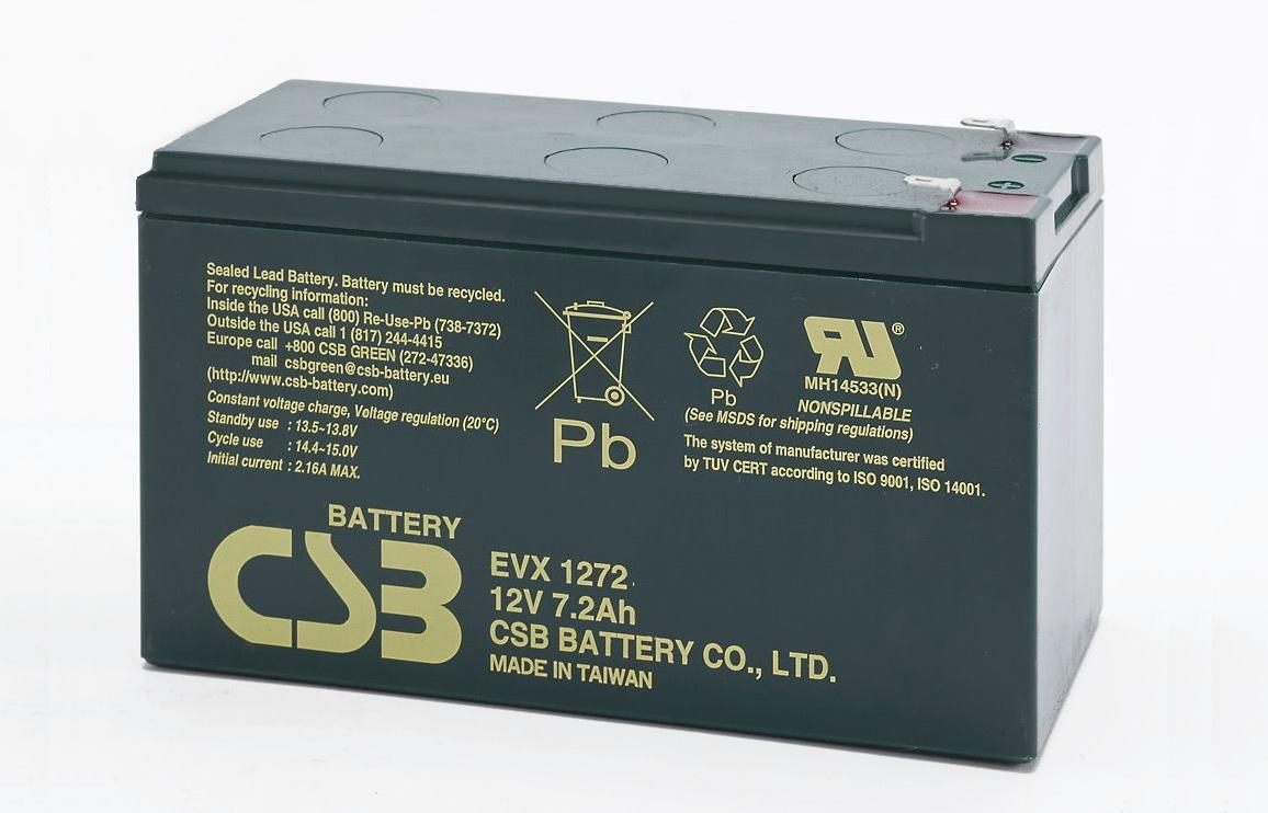 Аккумулятор CSB EVX 1272