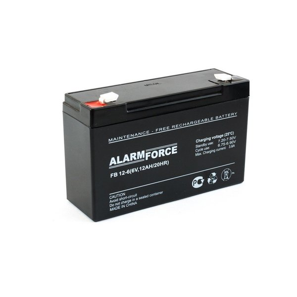 Аккумулятор Alpha (Alarm Force) FB 12-6