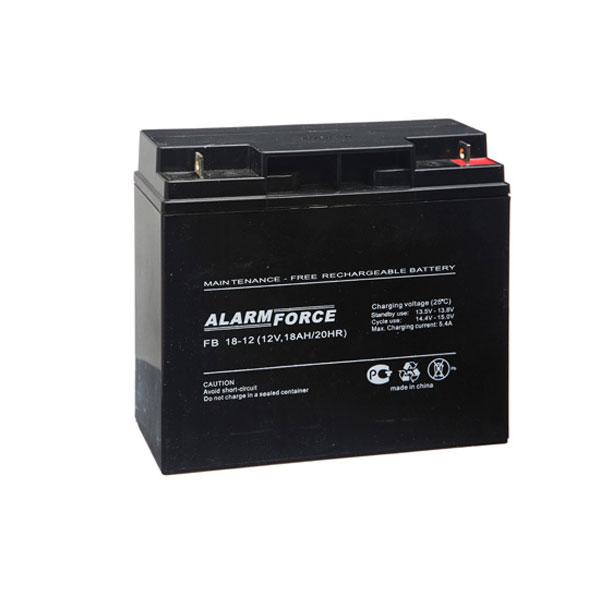 Аккумулятор Alpha (Alarm Force) FB 18-12