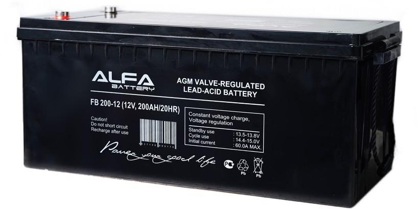 Аккумулятор Alpha (Alarm Force) FB 200-12