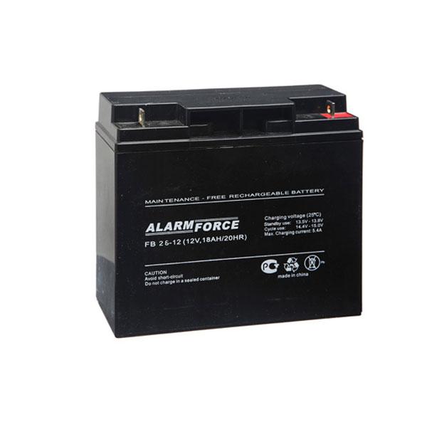 Аккумулятор Alpha (Alarm Force) FB 26-12