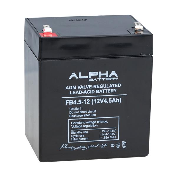 Аккумулятор Alpha (Alarm Force) FB 4,5-12