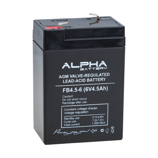 Аккумулятор Alpha (Alarm Force) FB 4,5-6