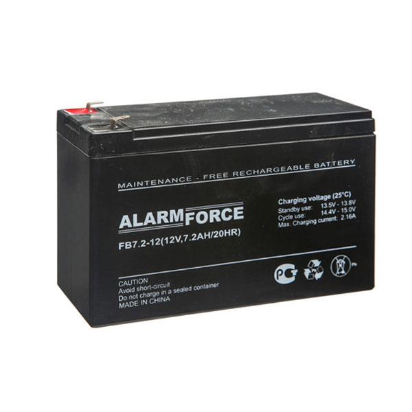 Аккумулятор ALARM FORCE FB 7,2-12
