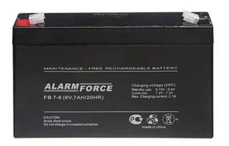 Аккумулятор Alpha (Alarm Force) FB 7-6
