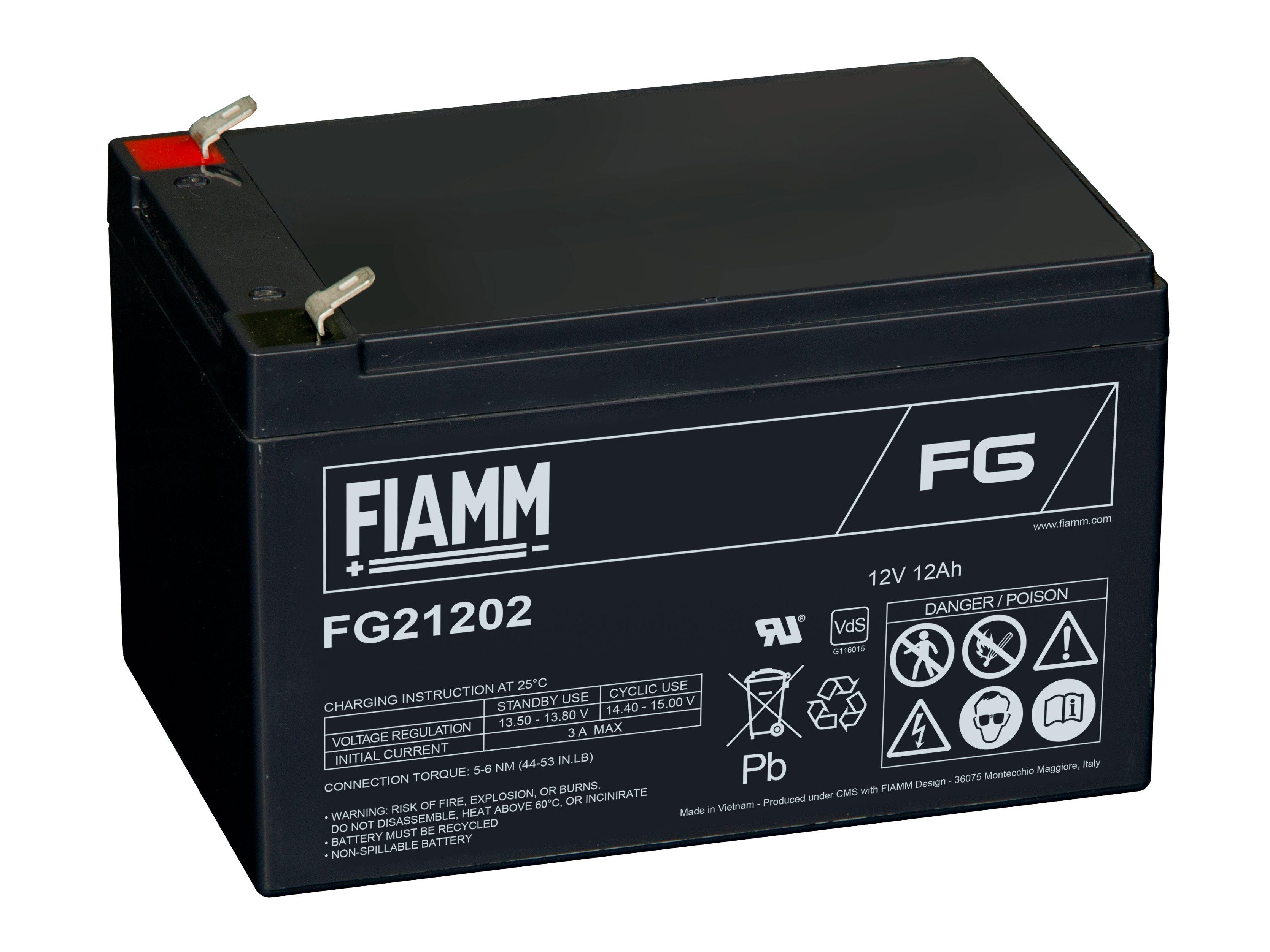 Аккумулятор FIAMM FGC21202
