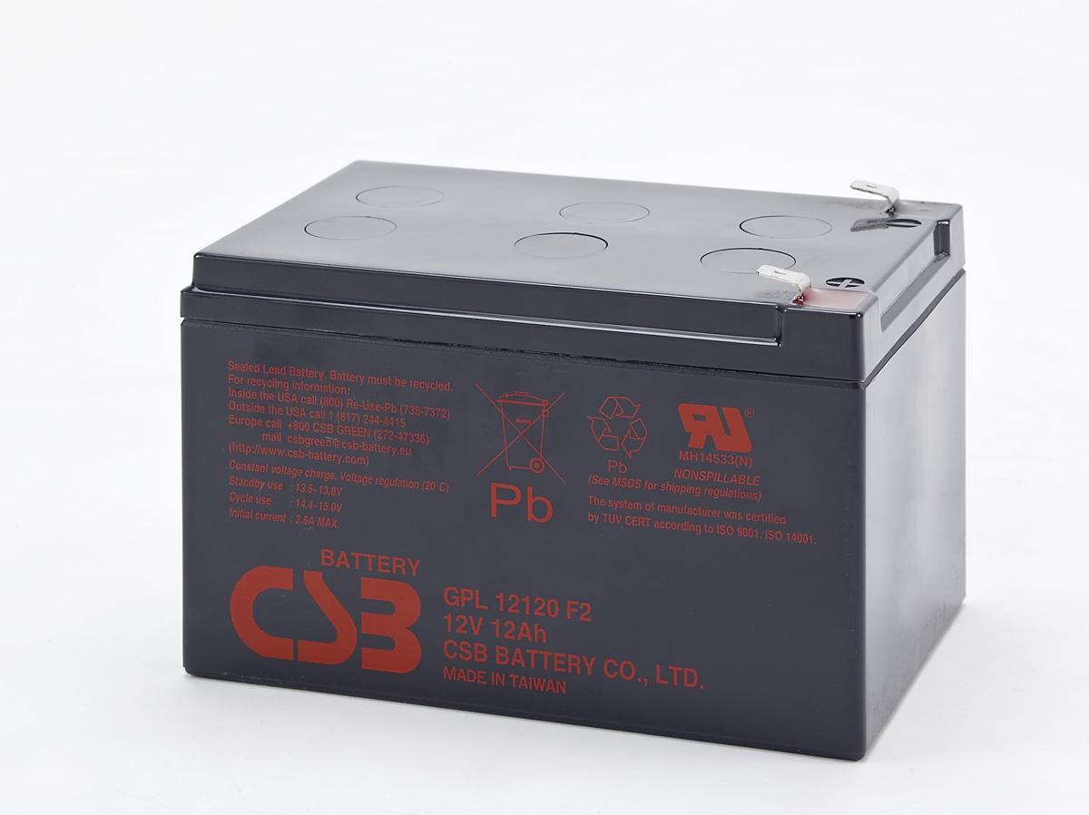 Аккумулятор CSB GPL12120