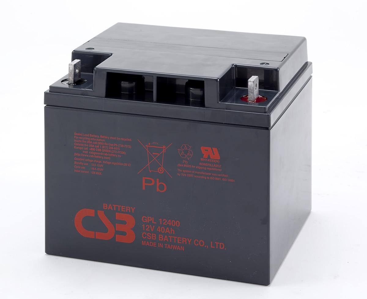 Аккумулятор CSB GPL12400