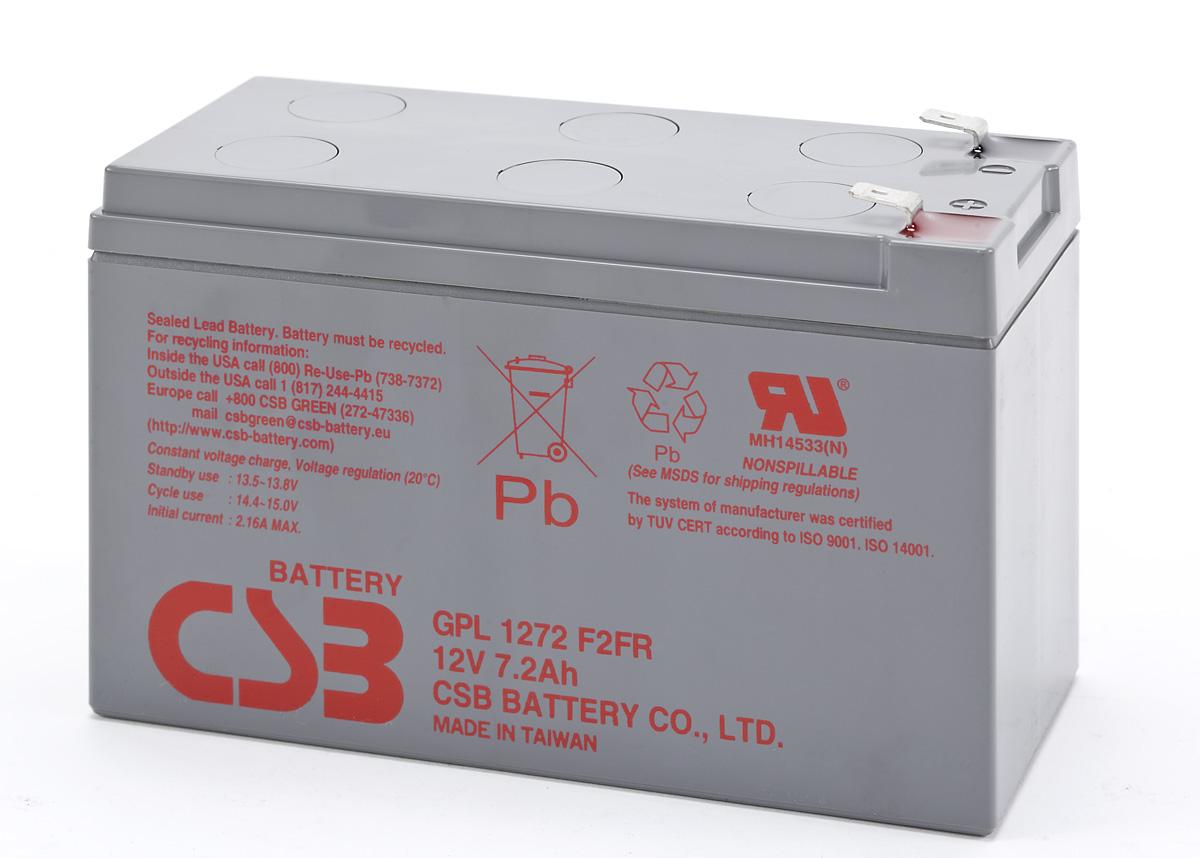 Аккумулятор CSB GPL  1272