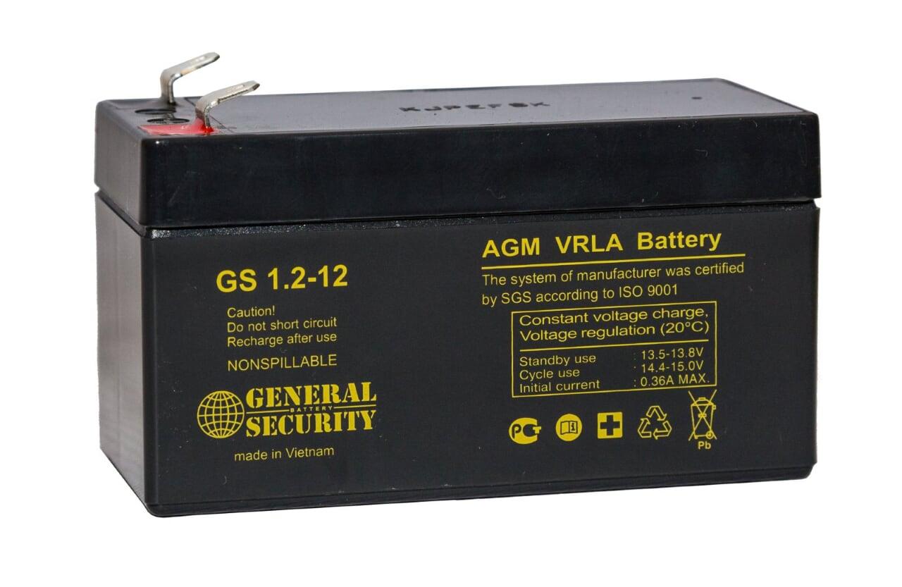 Аккумулятор General Security GS 1,2-12