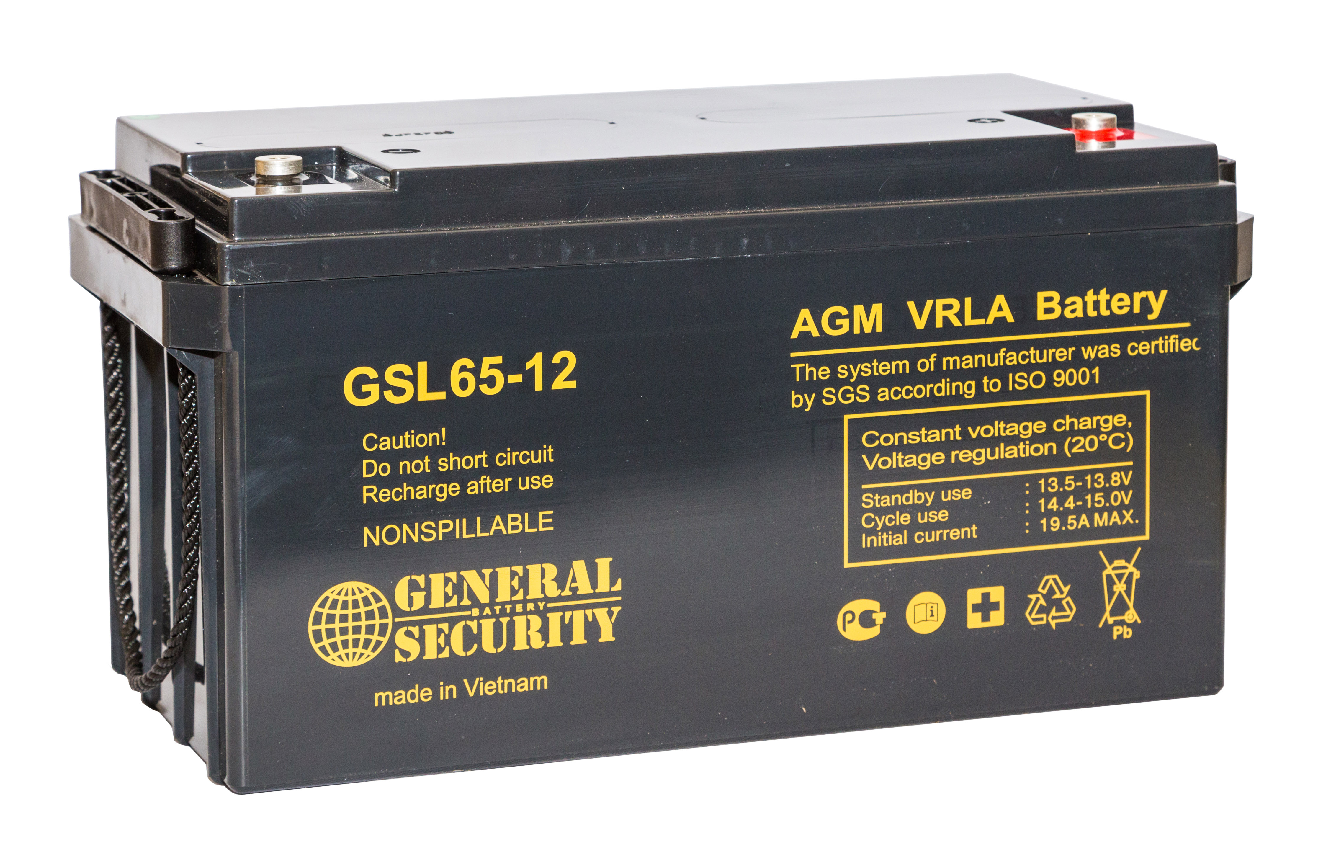 Аккумулятор General Security GSL65-12