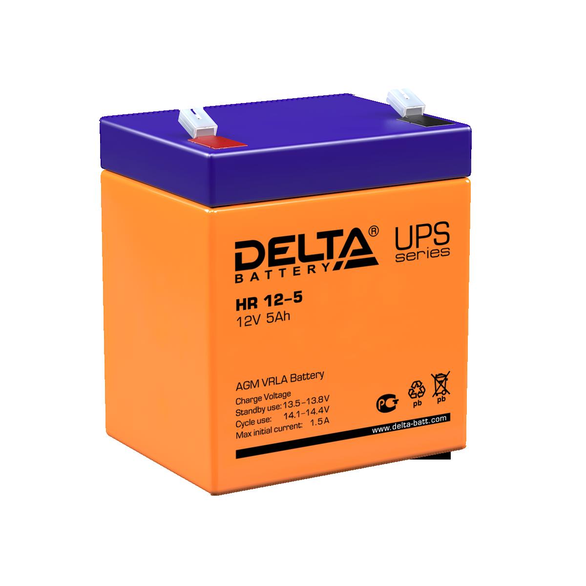 Аккумулятор DELTA HR 12-5