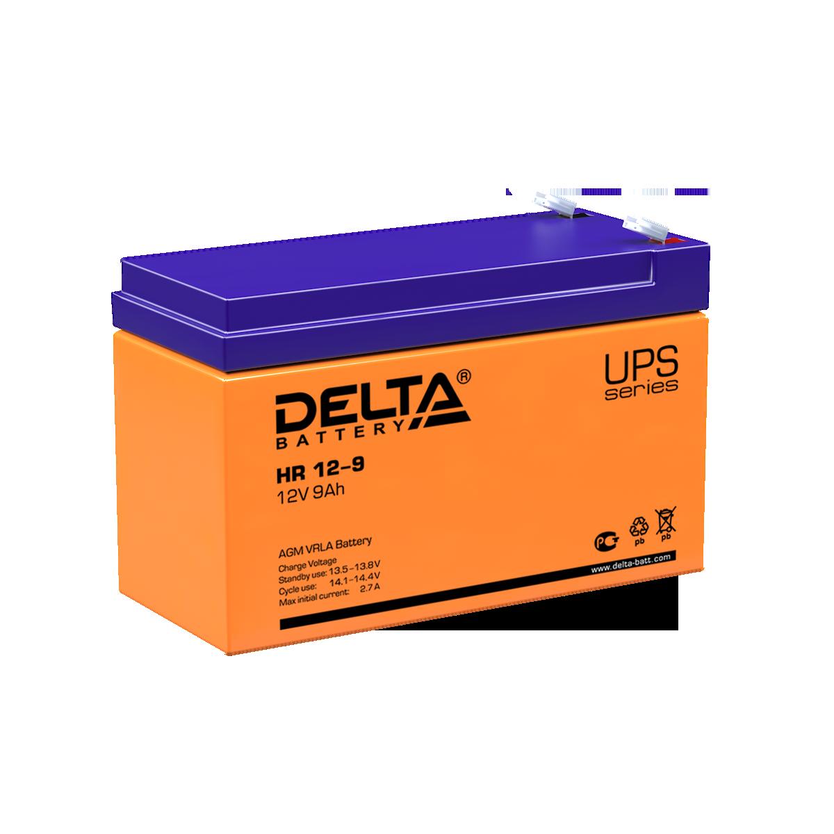 Аккумулятор DELTA HR 12-9