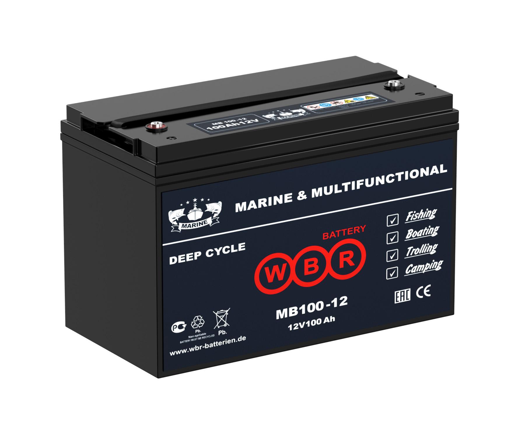 Аккумулятор WBR MB 100-12