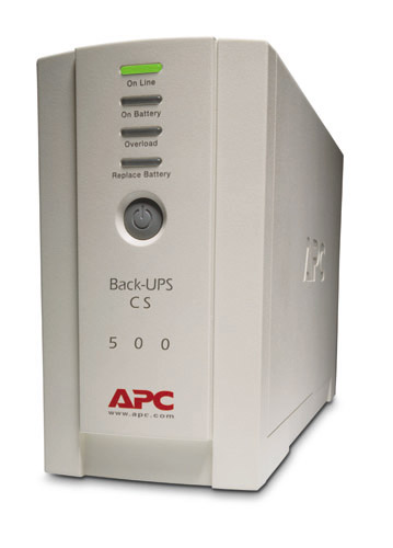 Аккумулятор для ИБП APC Back-UPS 500 Structured Wiring UPS, 230V