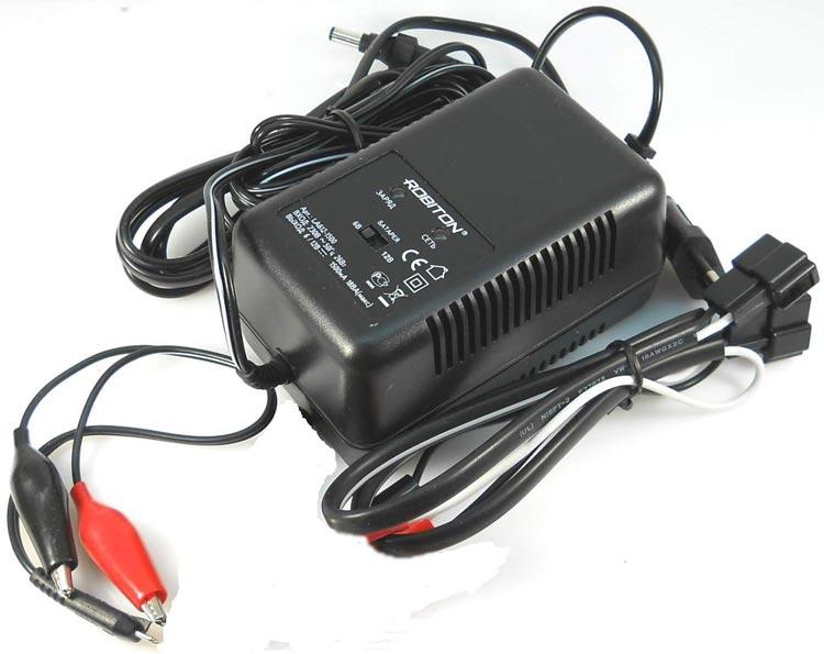 Зарядное устройство для свинцово - кислотных аккумуляторов ROBITON LA612-1500
