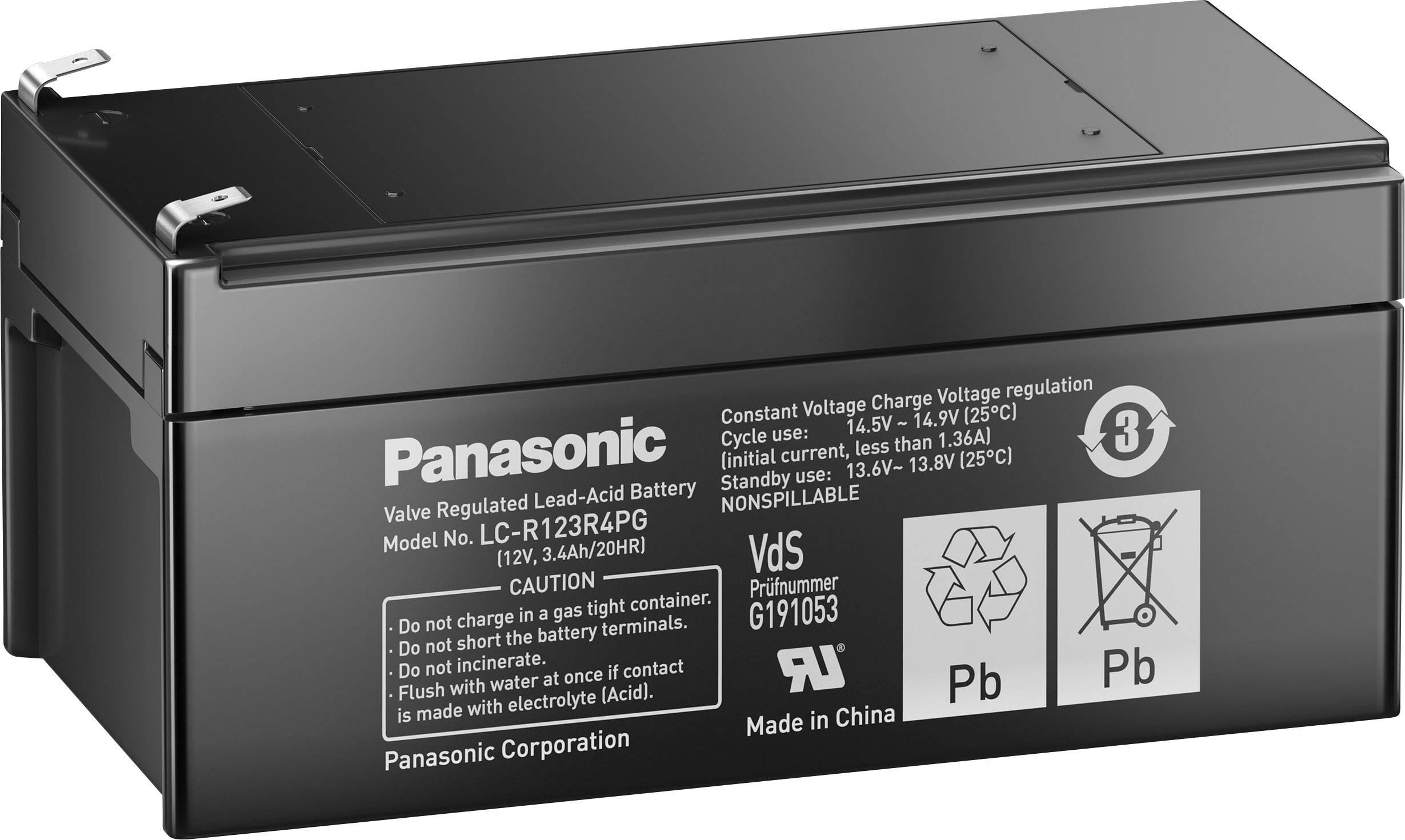Аккумулятор Panasonic LC-R123R4P