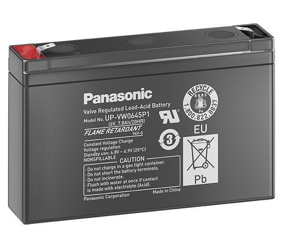 Аккумулятор Panasonic UP-VW0645P1