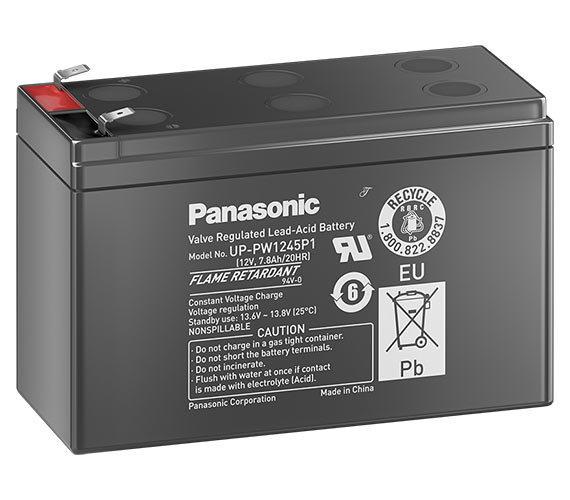 Аккумулятор Panasonic UP-VW1245P1