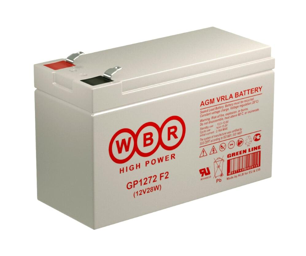 Аккумулятор WBR GP1272 (28W)