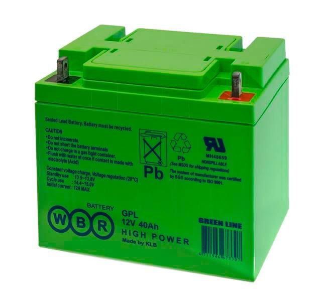 Аккумулятор WBR GPL122300