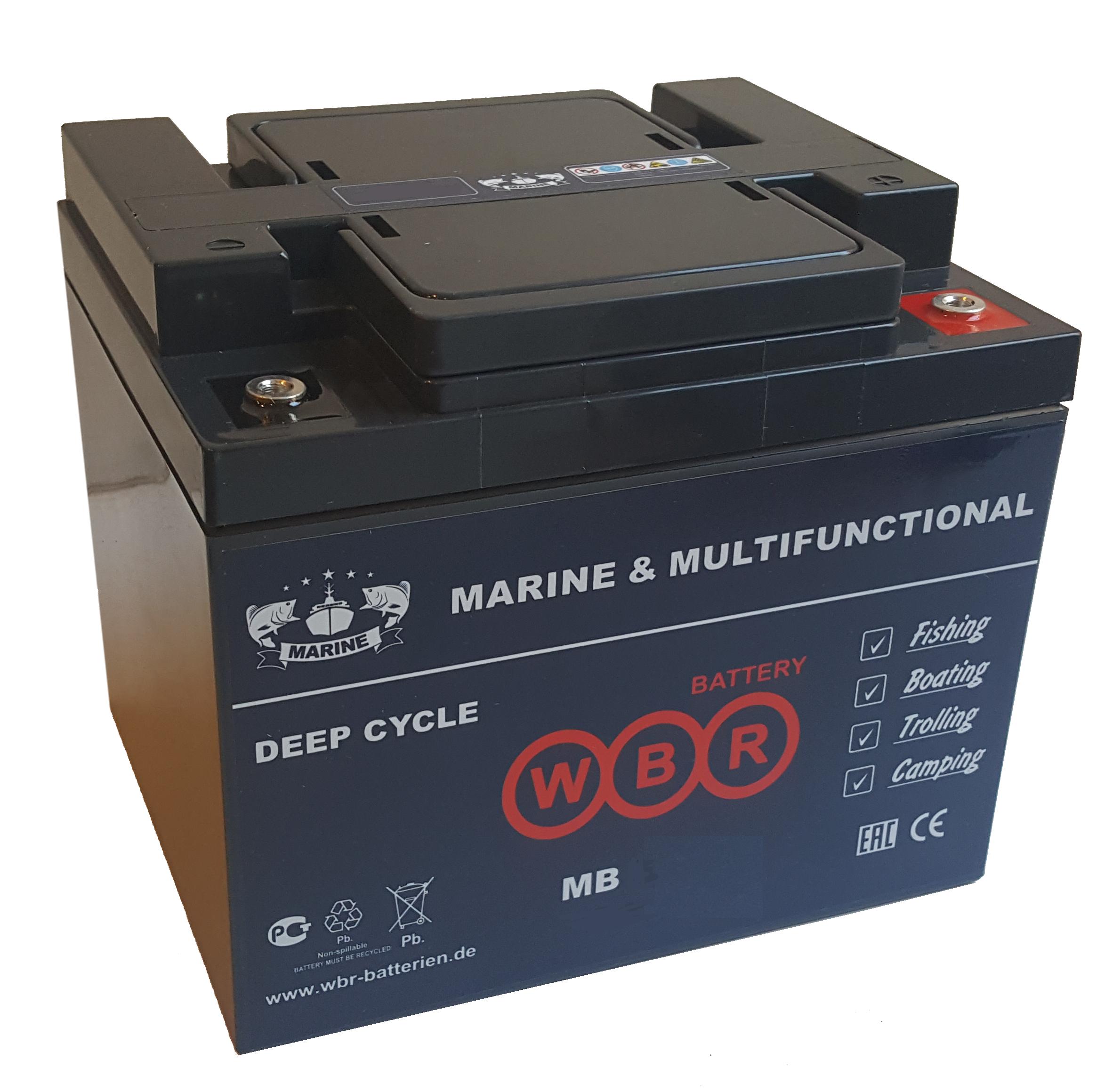 Аккумулятор WBR MB 50-12